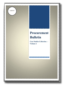 Procurement Case Studies Volume 1
