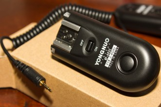 One of the transceivers and shutter cable