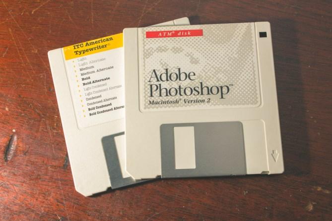 adobe photoshop floppy