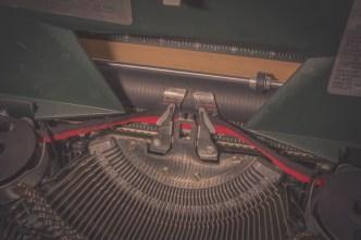 put into sears typewriter
