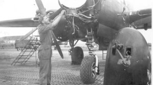 P-61 'Dragon' and R Ziebart