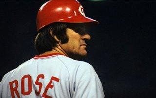 Pete Rose of the Cincinnati Reds