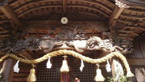 高知県の梼原町を訪れたときの神社