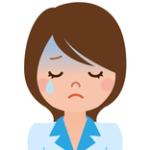 泣いている相談者の女性