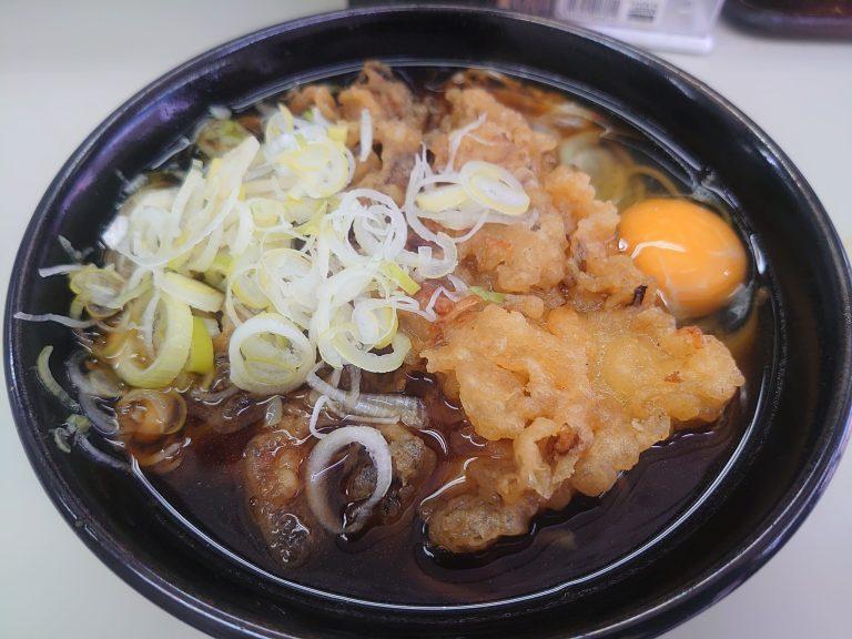 天たま蕎麦(長寿庵)
