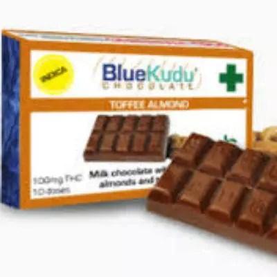 Blue Kudu Toffee Almond Marijuana Edibles Review