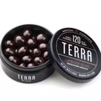 Terra Dark Chocolate Espresso Beans Marijuana Edibles Review