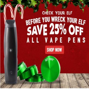 Christmas Vape Pens Got Vape Coupon Code