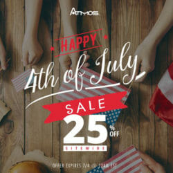 4th of July Discount Sale AtmosRX Coupon Code