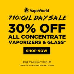 710 Sale VapeWorld Coupon Code
