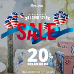 Labor Dale Sale Discount Atmos Coupon Code