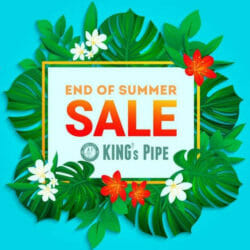 End of Summer Sale King's Pipe Coupon Code