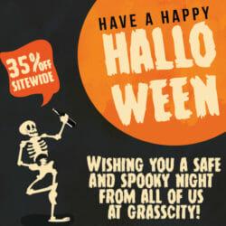 Halloween GrassCity Coupon Code