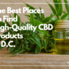 Best CBD Companies DC