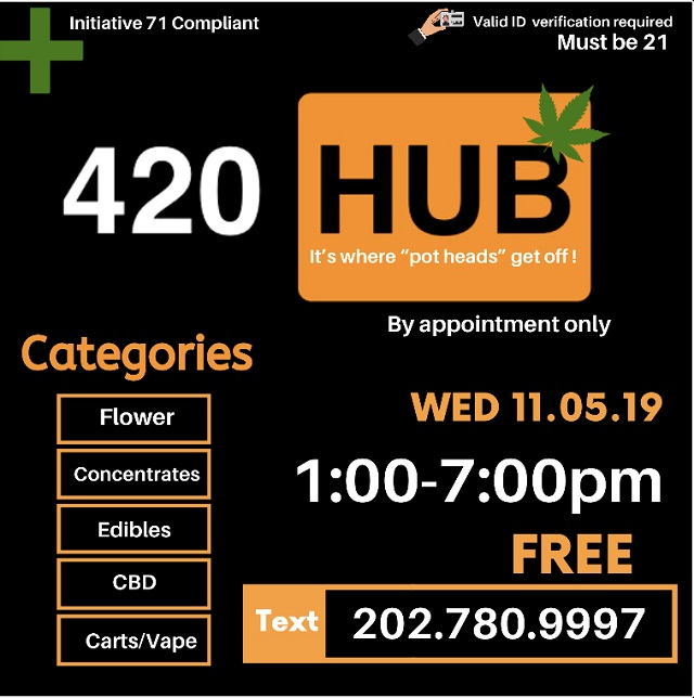 DC ​Weed​ ​Events​