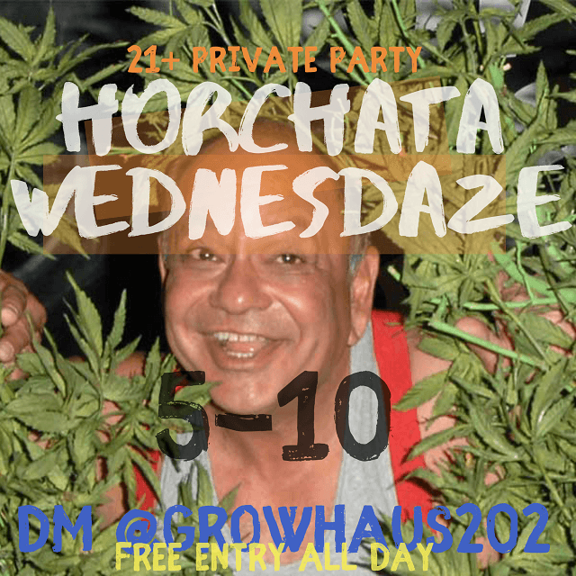 Today's​ ​Weed​ ​Events​ ​In​ ​D.C.​ (12/11/2019) 5 2020
