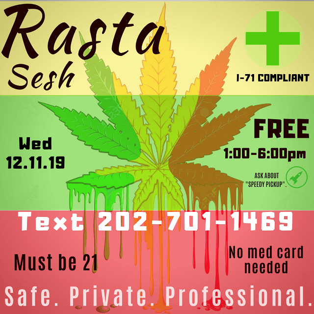 Today's​ ​Weed​ ​Events​ ​In​ ​D.C.​ (12/11/2019) 2 2020