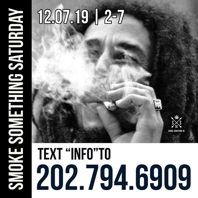 Today's Weed Events In D.C. (12/07/2019) 5 2020