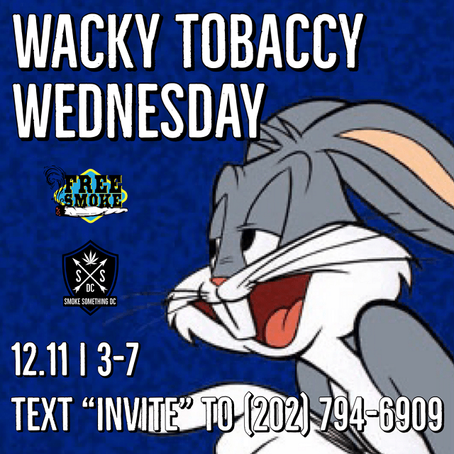 Today's​ ​Weed​ ​Events​ ​In​ ​D.C.​ (12/11/2019) 1 2020