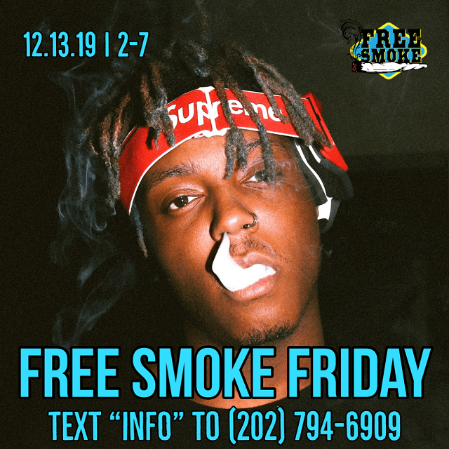 Today's Weed Events In D.C. (12/13/2019) 3 2020