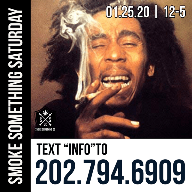 Today's Weed Events In D.C. (01/25/2020) 2 2020