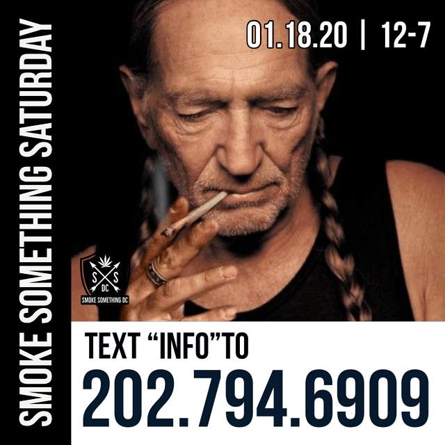 Today's Weed Events In D.C. (01/18/2020) 3 2020