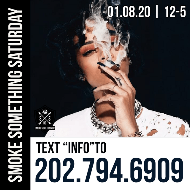 Today's Weed Events In D.C. (02/08/2020) 7 2020