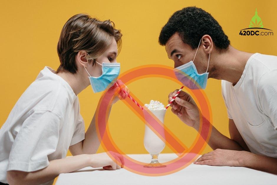 No Sharing, Coronavirus, Social Distancing