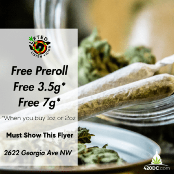Today's Weed Events In D.C. (03/20/2020) 5 2020
