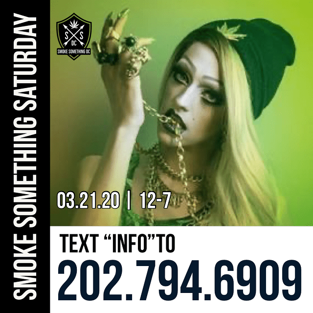 Today's Weed Events In D.C. (03/21/2020) 3 2020