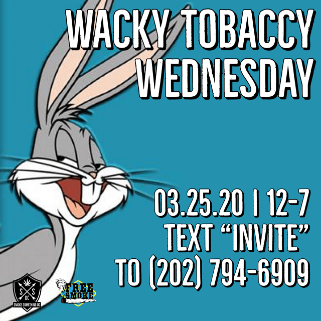 Today's Weed Events In D.C. (03/25/2020) 1 2020