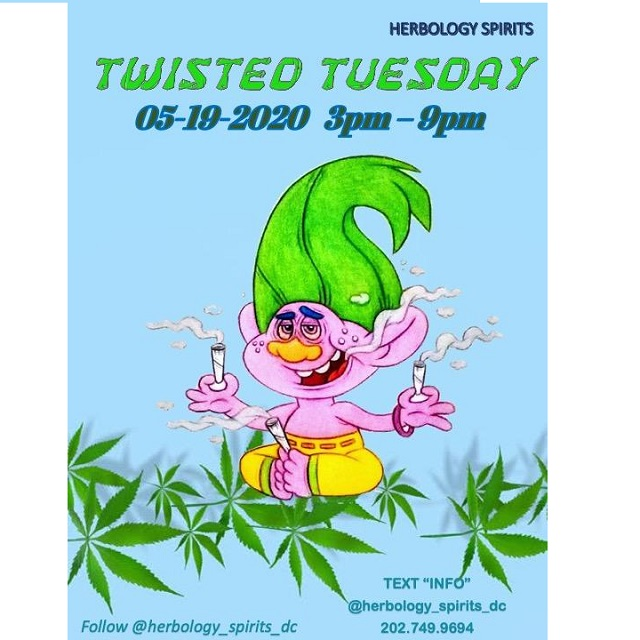 Today's​ ​Weed​ ​Events​ ​In​ ​D.C.​ (05/19/2020) 3 2020