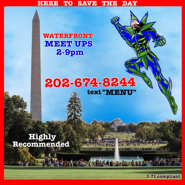 Today's Weed Events In D.C. (07/26/2020) 3 2020
