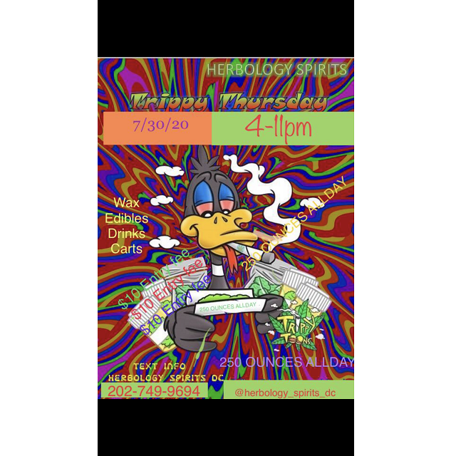Today's Weed Events In D.C. (07/30/2020) 11 2020