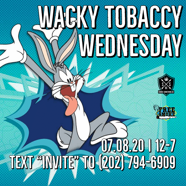 Today's Weed Events In D.C. (07/08/2020) 3 2020
