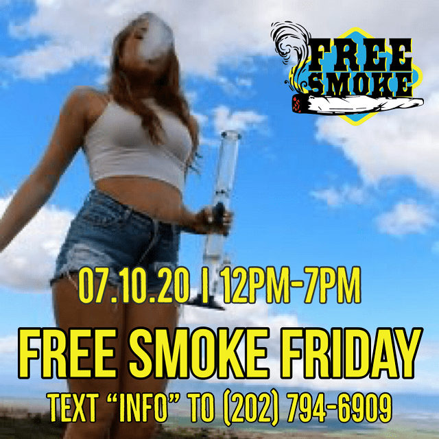 Today's Weed Events In D.C. (07/10/2020) 12 2020
