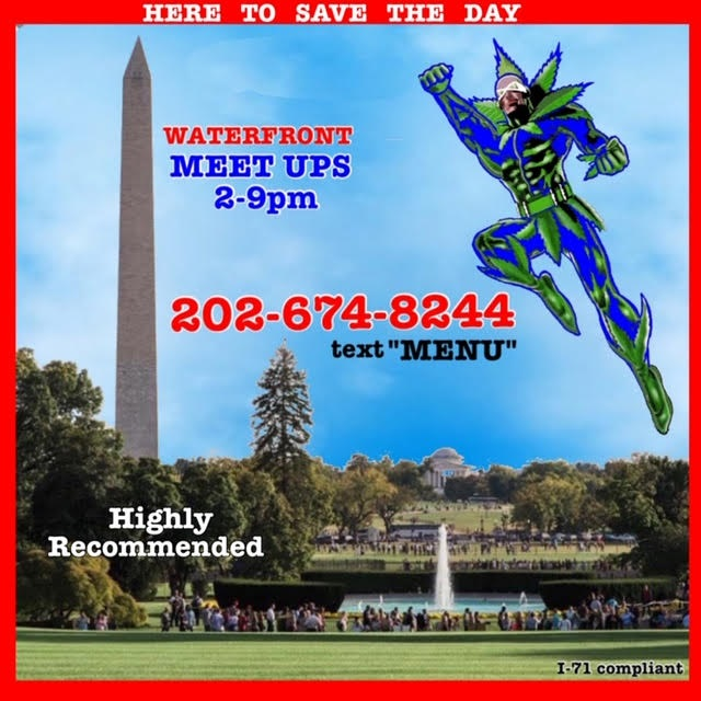 Today's Weed Events In D.C. (07/25/2020) 4 2020