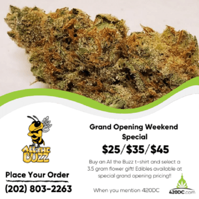 Today's Weed Events In D.C. (08/02/2020) 12 2020