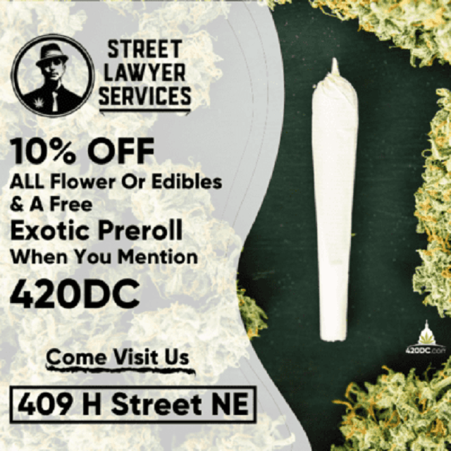Today's Weed Events In D.C. (08/02/2020) 10 2020