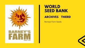 シードバンクアーカイブス Barneys Farm Seeds