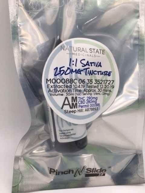 NSM One-to-one Sativa tincture