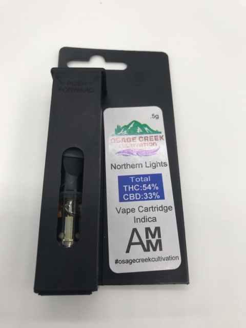 Osage - Cartridge- Northern Lights- .5G