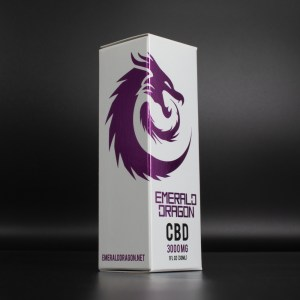 Emerald Dragon CBD Tincture - 3000mg