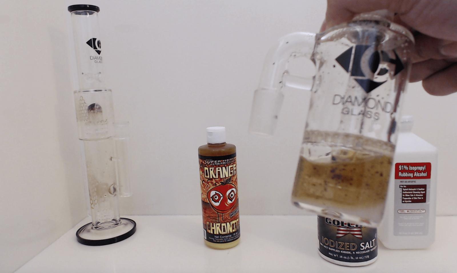 Rubbing Alcohol & Salt or Orange Chronic