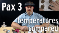 Pax 3 Temperature Settings Compared - Pax Temp Guide