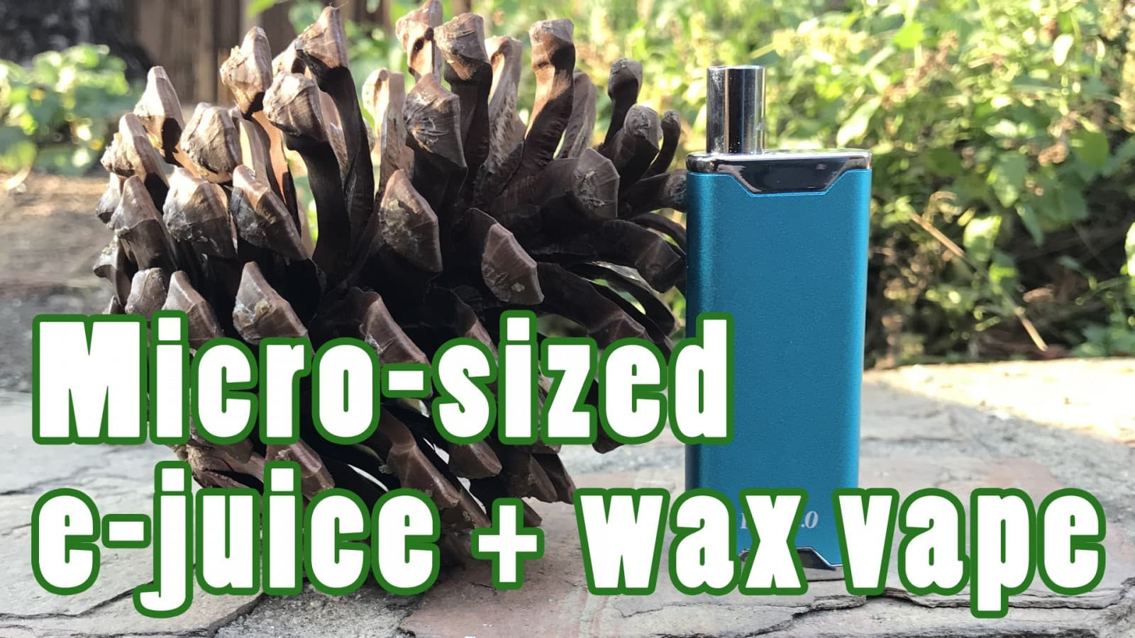 Yocan Hive 2.0 Review – Micro wax vaporizer / 510 cartridge battery