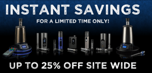 25% Price Drop ARIZER VAPES