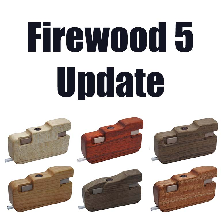 Firewood 5 Now Available in a Variety of Woods