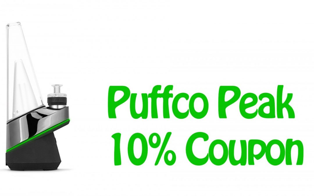 Puffco Peak Coupon!