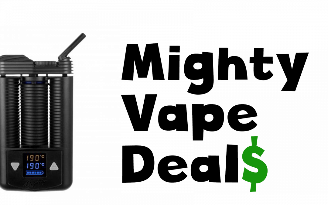 Cyber Monday deals on the Mighty Vaporizer
